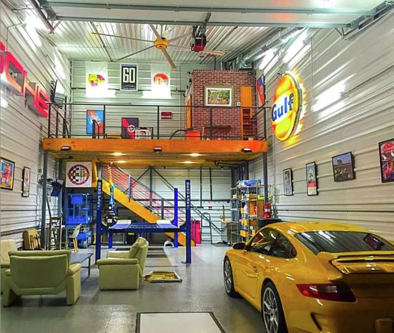Amazing buildouts: 'Man-cave' condos for your car coming to Katy ...