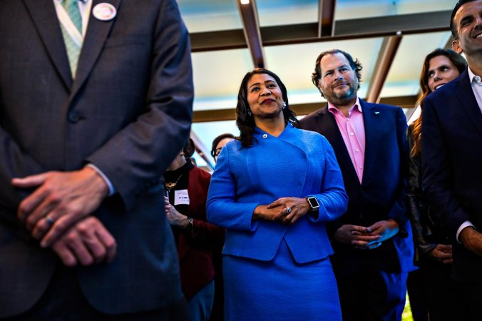 Image result for Mayor-elect London Breed gives an interview to the Chronicle at the Chronicle studio in San Francisco, California, on Monday, July 9, 2018.Photo: Gabrielle Lurie