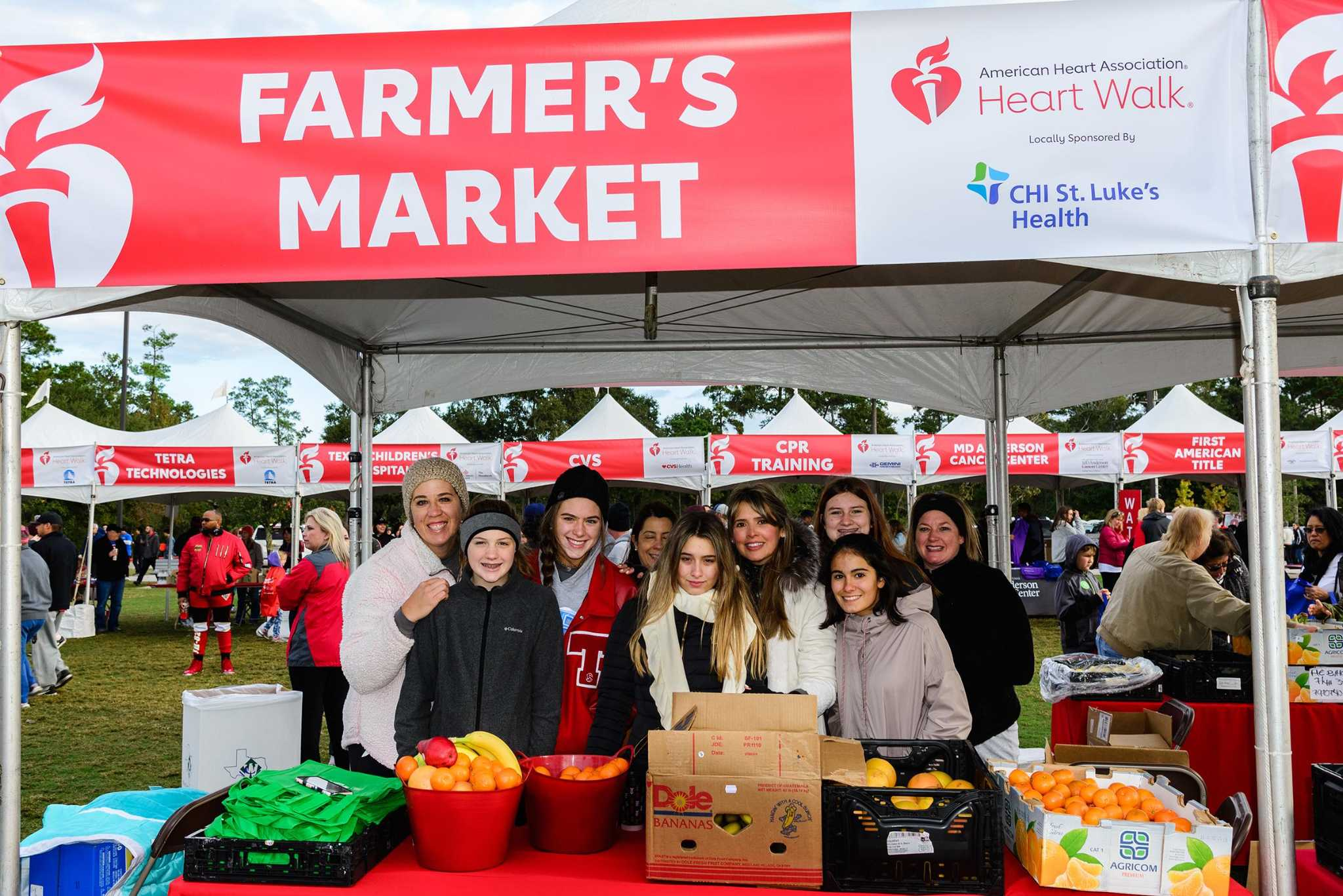 American Heart Association Heart Walk Raises 360 000 For