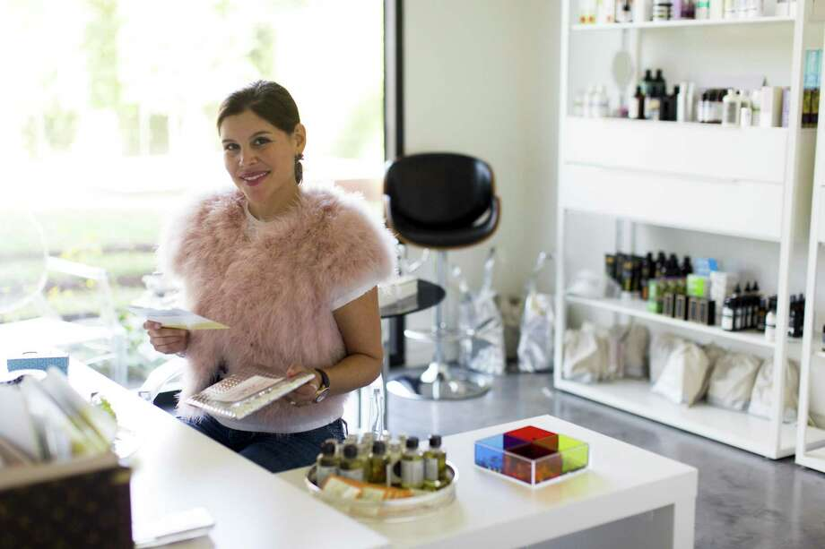 Estela Cockrell came up with the Switch2Pure natural beauty brand because of a personal need, after noticing that there were not many natural products available. Photo: Switch2Pure / Josue Salinas