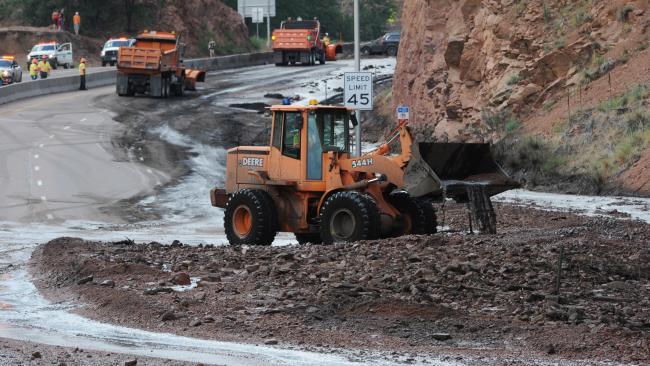 Colorado Flooding And Mudslides