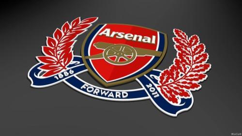 hd wallpaper arsenal logo 3d