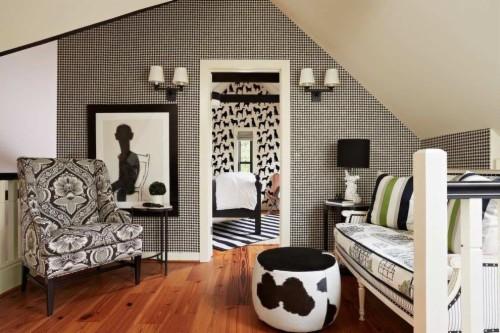 Striped Wallpaper Bedroom Ideas Striped Wallpaper Bedroom Black And White Striped Wall Bedroom 353141 Hd Wallpaper Backgrounds Download