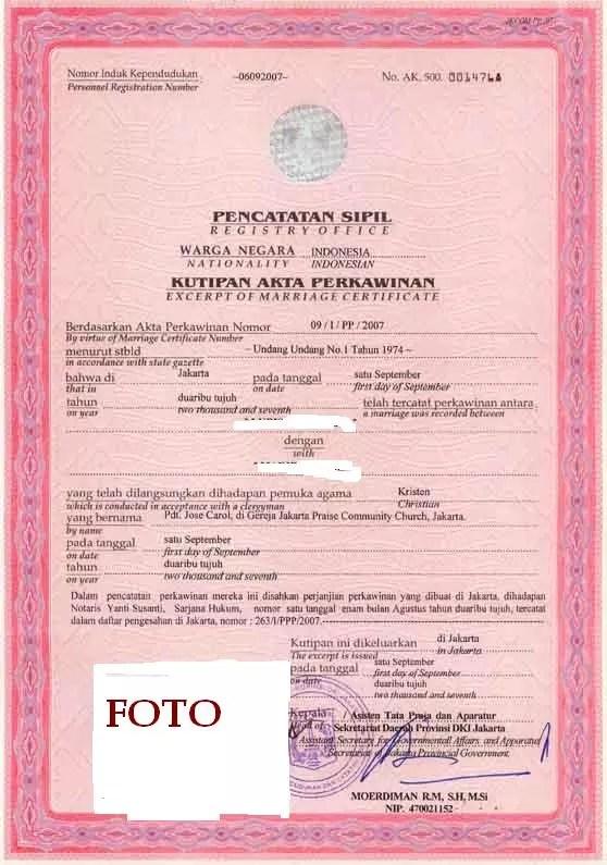 Terjual Bantu Urus Akte Lahir Dan Akte Nikah 100 Legal Kaskus