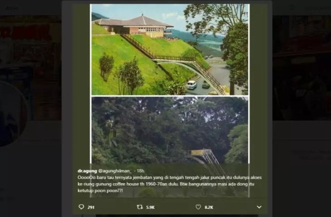 Misteri Jembatan Dan Bangunan Kuno Di atas Puncak Bogor