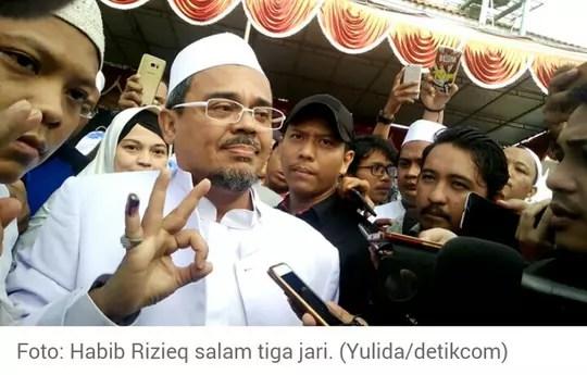Polda metro jaya : Sebenarnya kasus Habib Rizie ini masih belum jelas pidana tidaknya