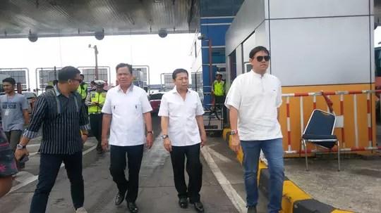 Hendak ke Cirebon, Setya Novanto tiba-tiba sidak Tol Cikarang Utama karena macet