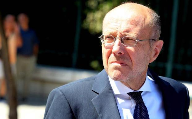 Ο Γενικός Γραμματέας Συντονισμού Δημήτρης Βαρτζόπουλος.