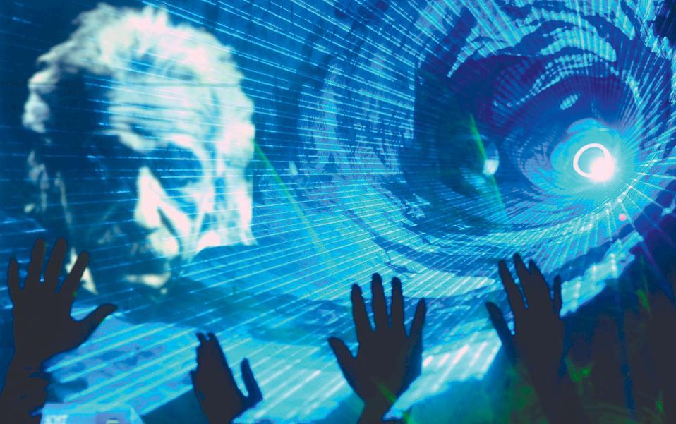 Προβολή του προσώπου του Αλμπερτ Αϊνστάιν σε ένα σόου με λέιζερ που οργάνωσαν Κινέζοι φυσικοί στη Σαγκάη. Το Διεθνές Ετος Φωτός, που γιορτάζεται φέτος, εκκινεί, εν μέρει, από τη Γενική Θεωρία της Σχετικότητας, που ο Γερμανός φυσικός διατύπωσε εκατό χρόνια πριν. Οι δράσεις που θα πραγματοποιηθούν παγκοσμίως θα φέρουν κοντά αστρονόμους, φυσικούς και μηχανικούς με καλλιτέχνες και στοχαστές.