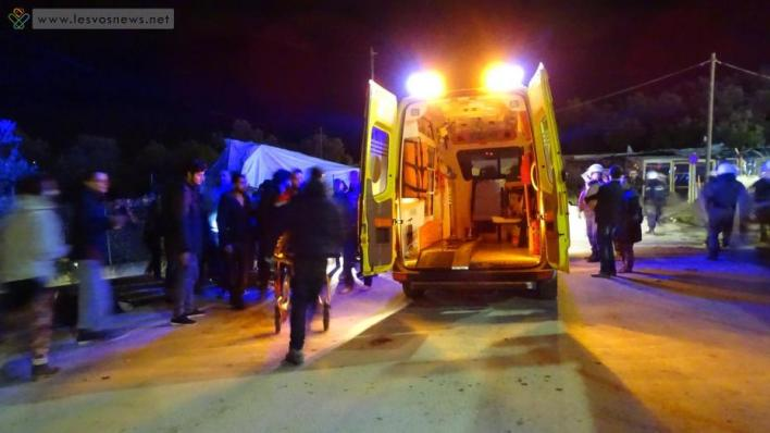 Άγριες συμπλοκές στον καταυλισμό της Μόριας - 15 τραυματίες