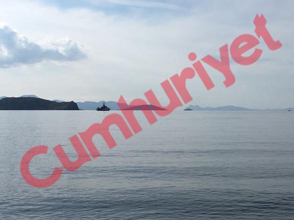 Cumhuriyet: Τούρκοι κατασκευάζουν στρατιωτικές εγκαταστάσεις απέναντι από τα Ιμια