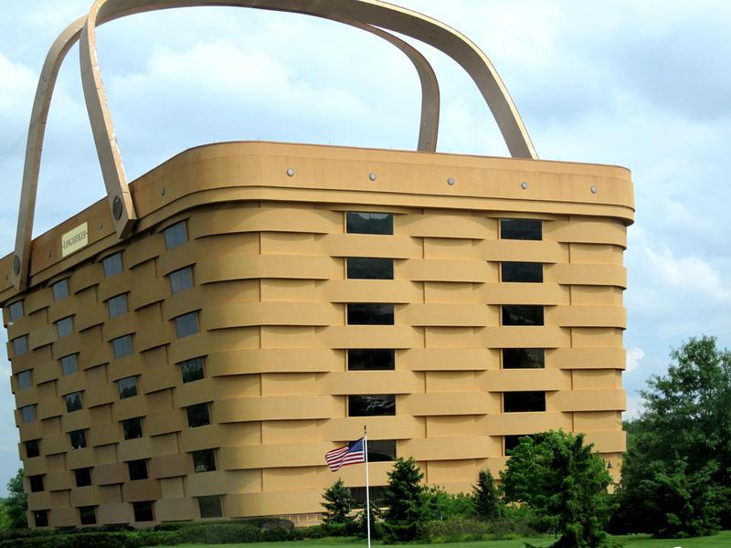 Edificio Cesta Longaberger,Newark, Ohio, EEUU