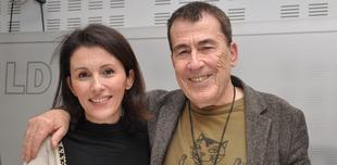 Ayanta Barilli y Fernando Sánchez Dragó. | LD