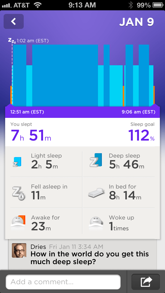 jawbone up vs basis matt mullenweg
