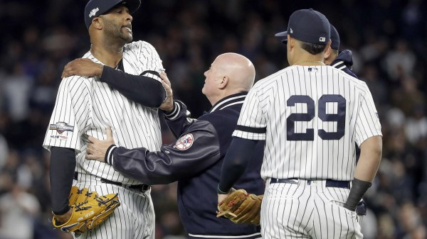 Sabathia, Yankees come apart as Astros push them to brink
