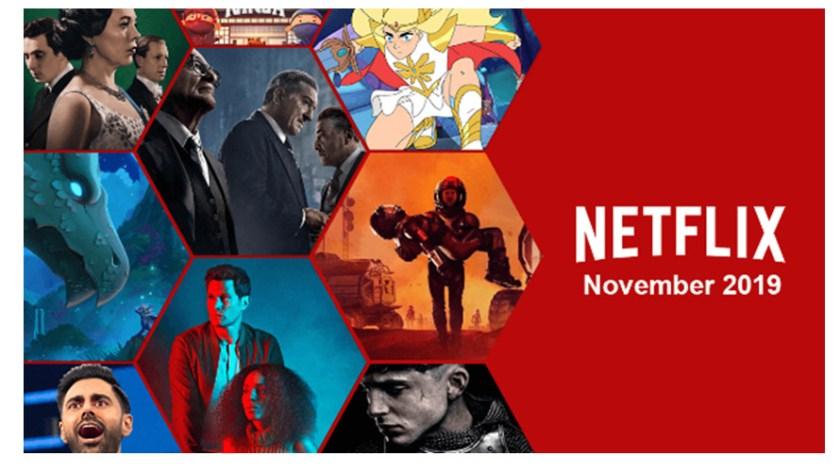 Image result for netflix streaming november 2019