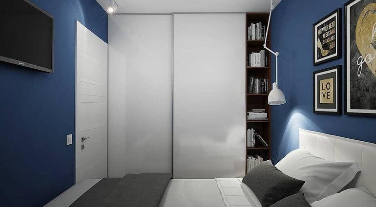 спальня без окна дизайн фото 2