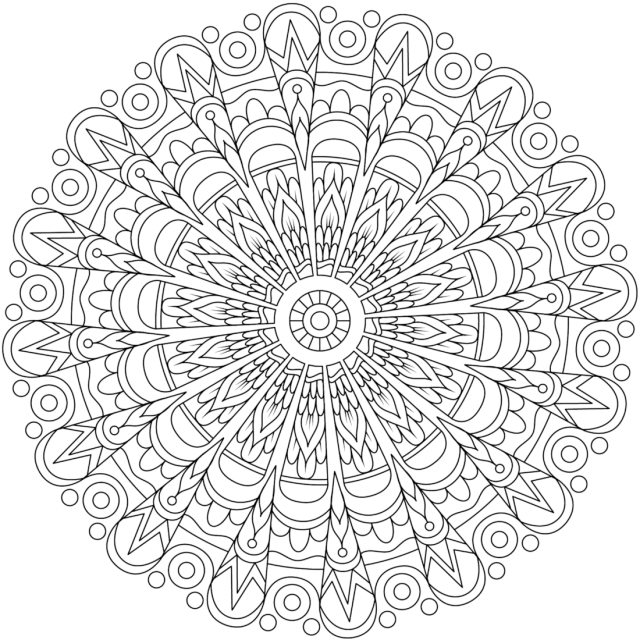 Rebellious Heart Coloring Page