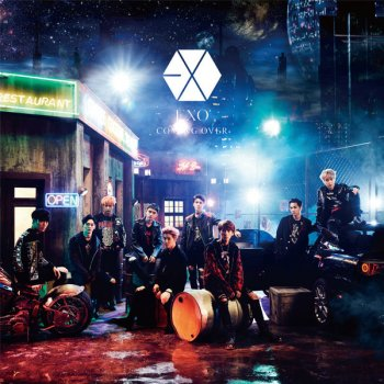 Image result for exo coming over album cover