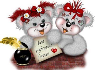 Best Friends Forever Teddy Bears Friends