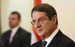 Αναστασιάδης: Η ελληνοκυπριακή πλευρά είναι πανέτοιμη για λύση