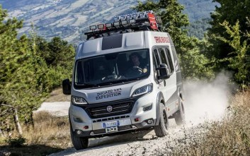 H Fiat αποκαλύπτει το Ducato 4X4 Expedition