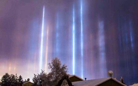 Το απόκοσμο και πανέμορφο φυσικό φαινόμενο στον ουρανό της Ρωσίας