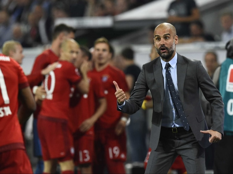Pep Guardiola Bayern Munich 2015