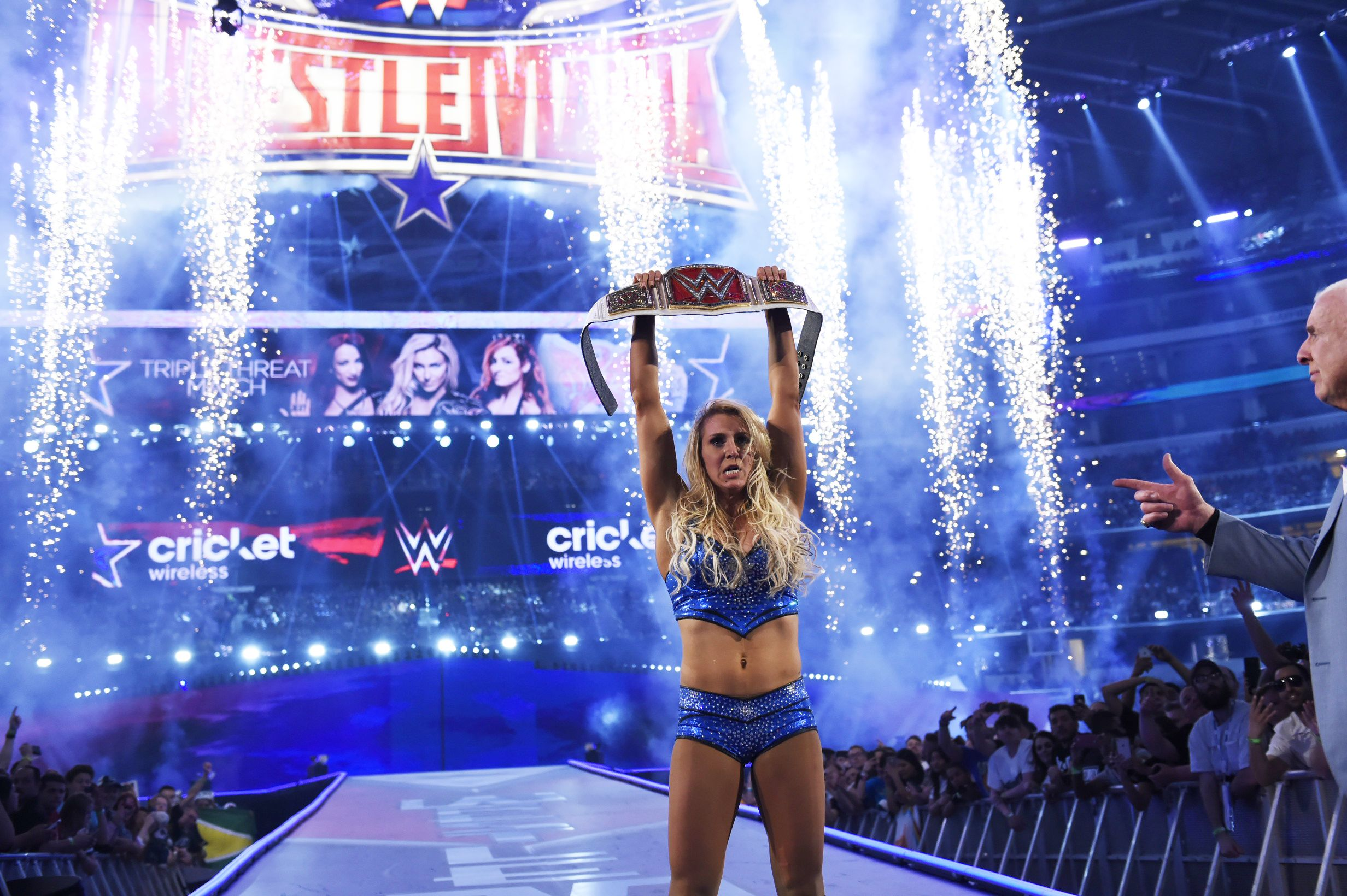 Image result for charlotte wrestlemania