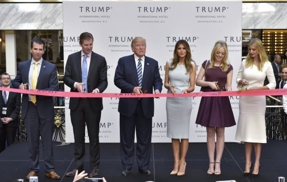 The Trump family's endless conflicts of interest. Chapter and Verse