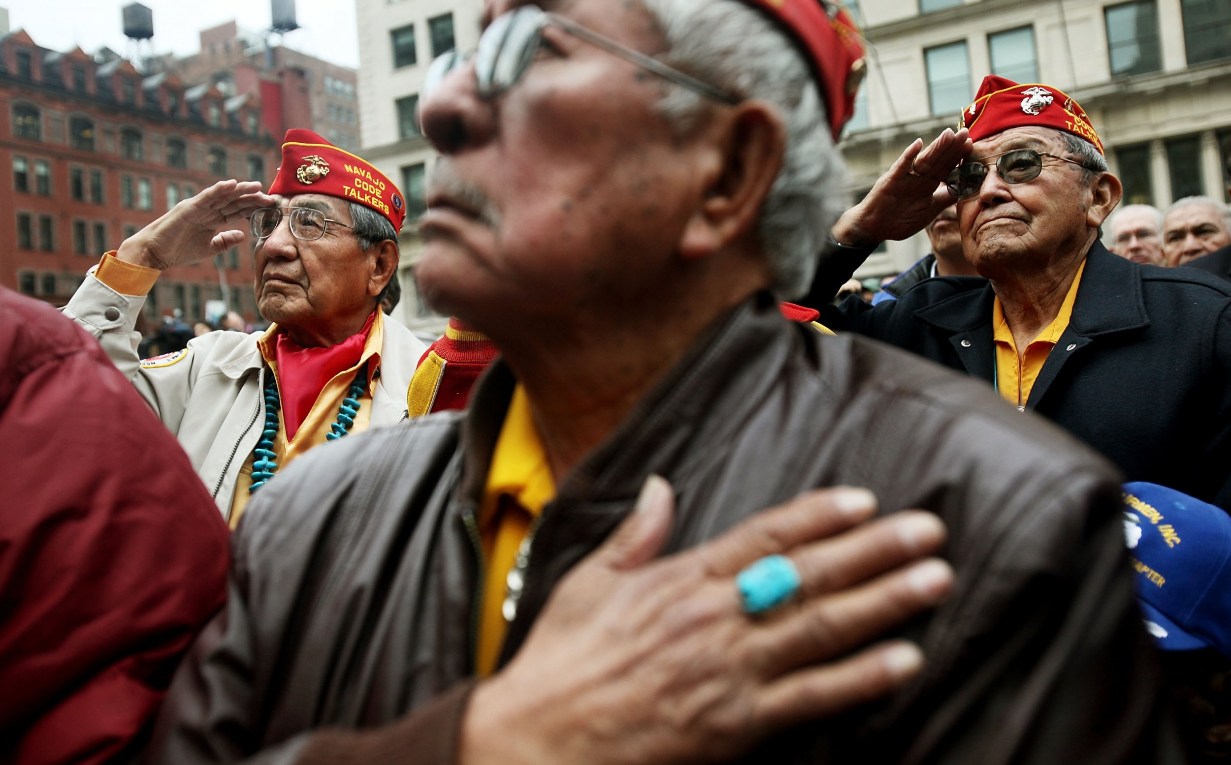 Who Are The Navajo Code Talkers Trump Insults World War Ii Heroes With Pocahontas Joke