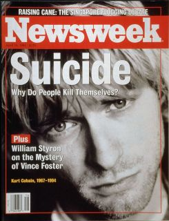 Image result for kurt cobain NEWSWEEK magazine