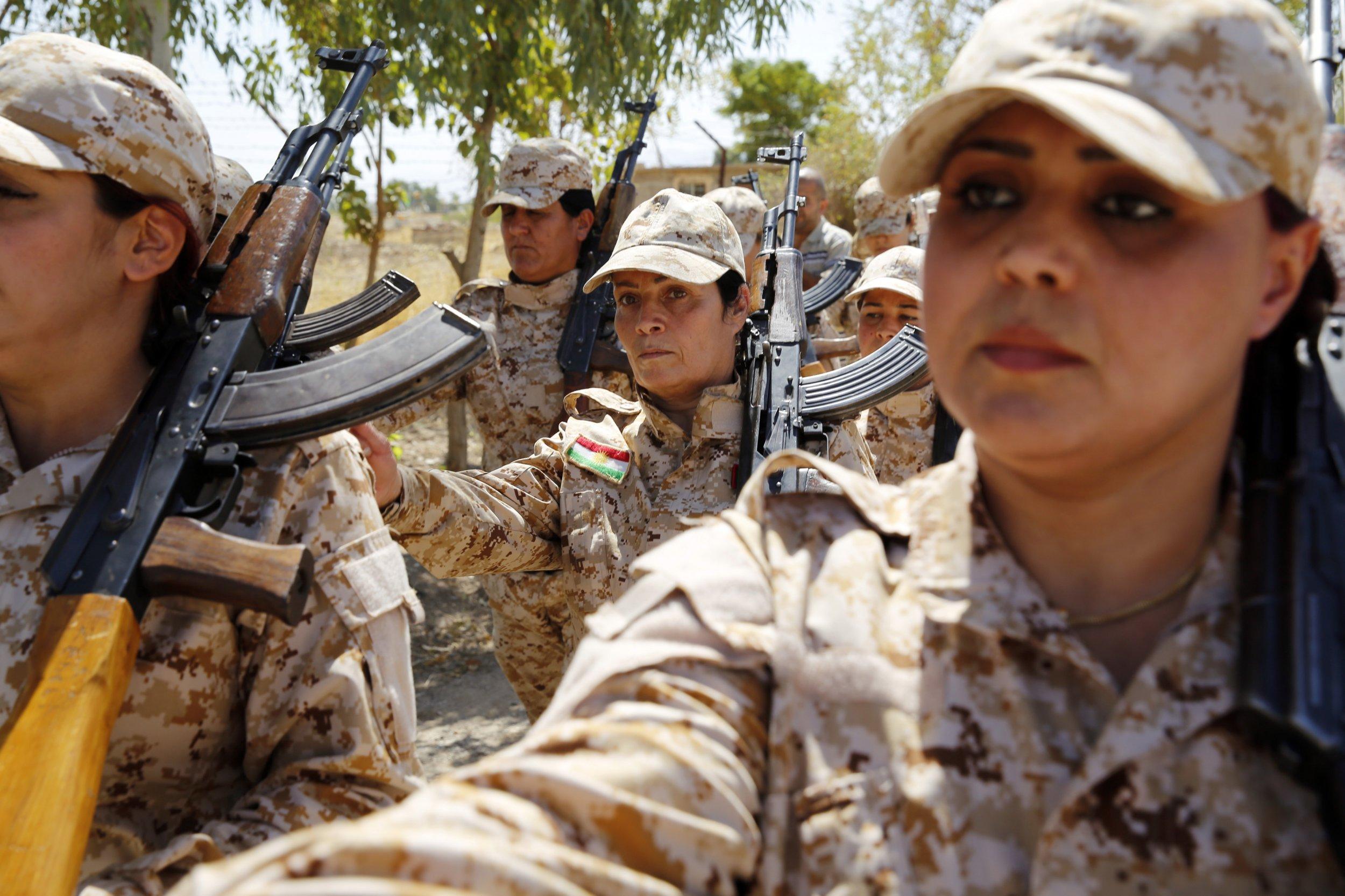 Meet The Peshmerga Women Fighting ISIS