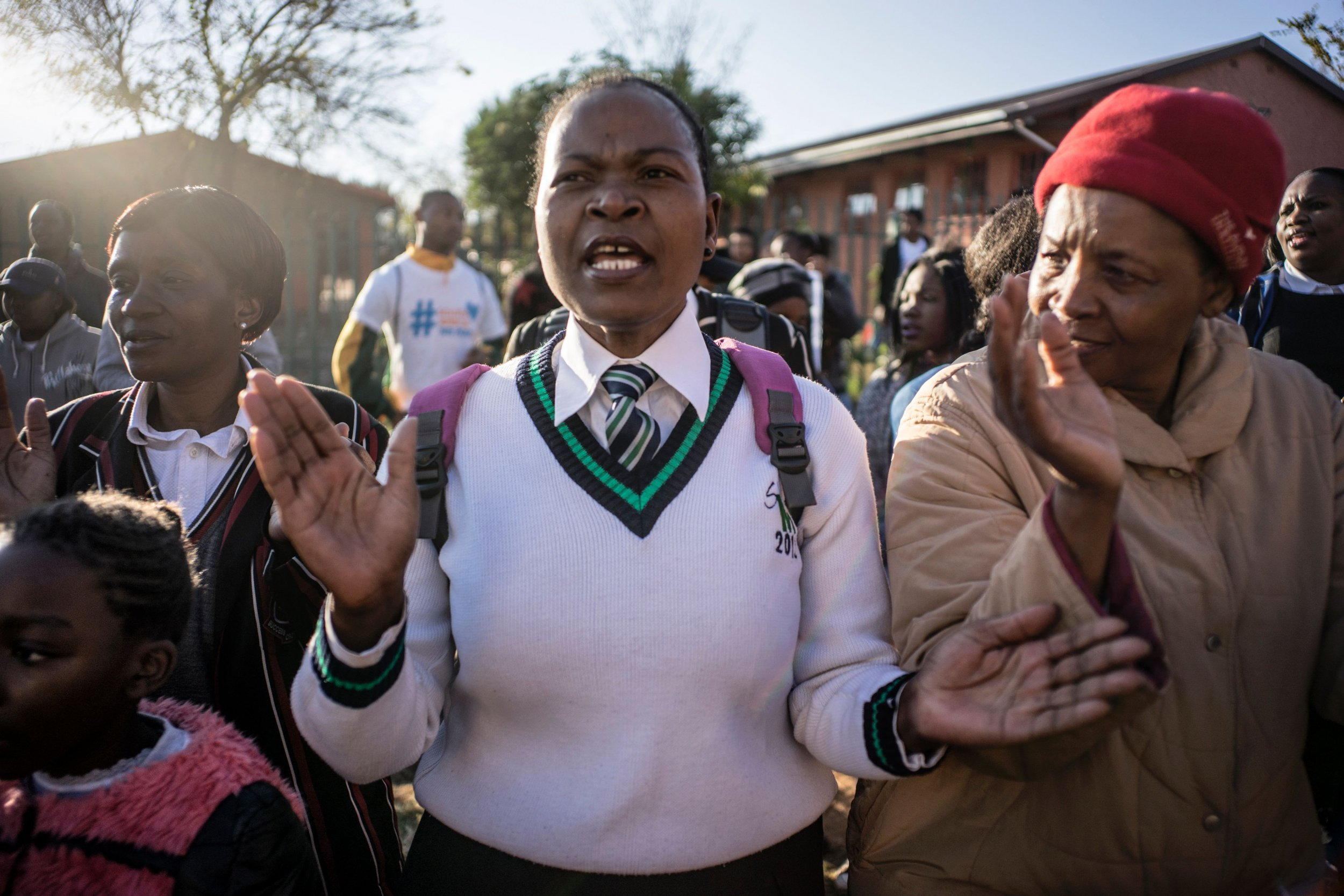South Africa Racist Hair Rules Suspended After Student