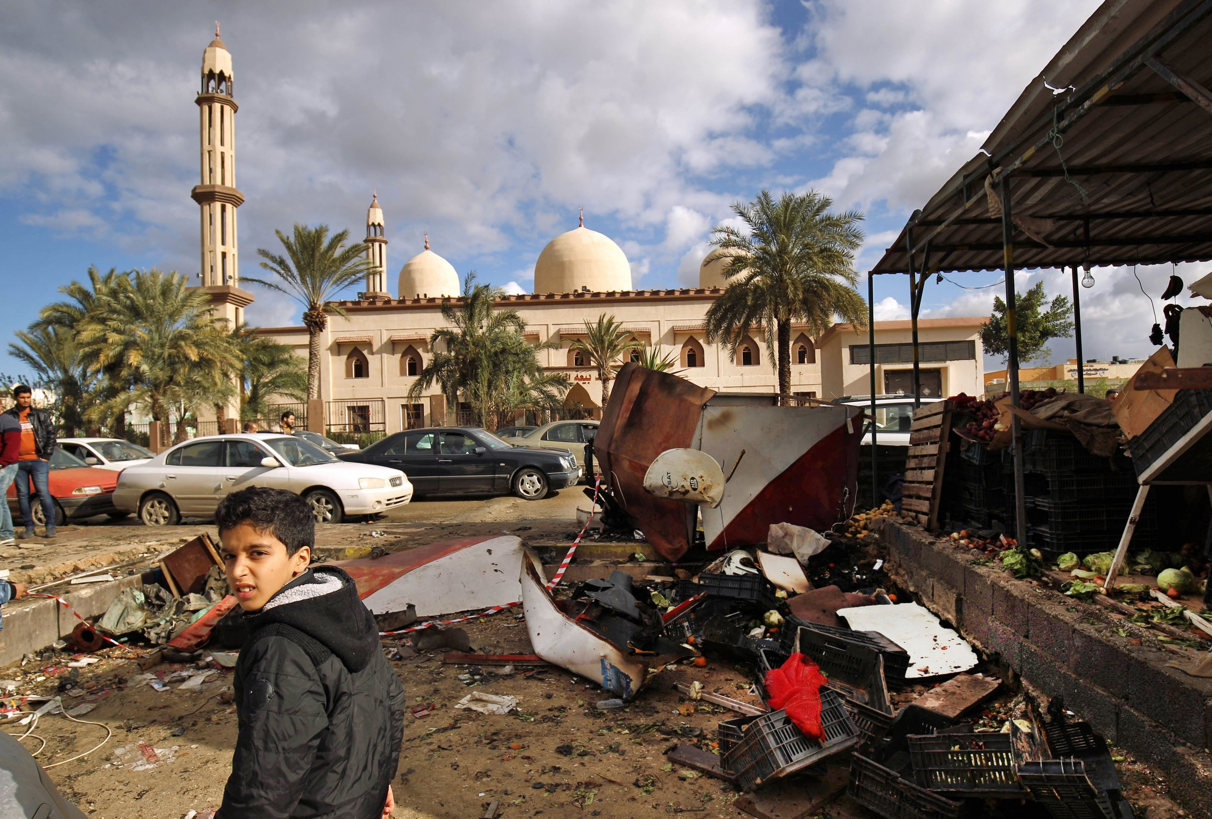 Video Shows Mass Execution In Libya S Benghazi In Revenge For Mosque
