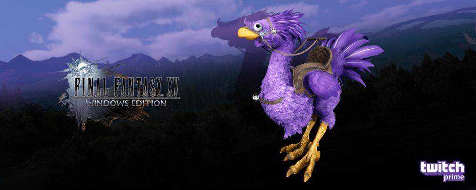 Final Fantasy XV Kooky Bundle Brings Purple Chocobo And