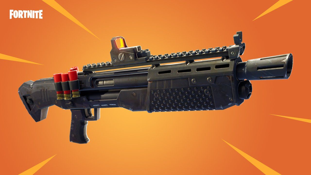 Fortnite Heavy Shotgun Released With Update 331 No