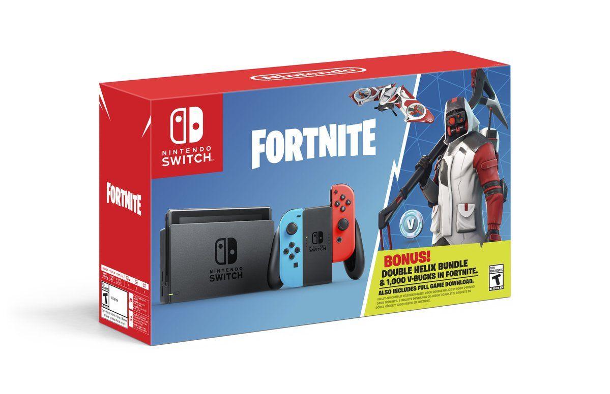 Fortnite Double Helix Nintendo Switch Bundle Is Underwhelming