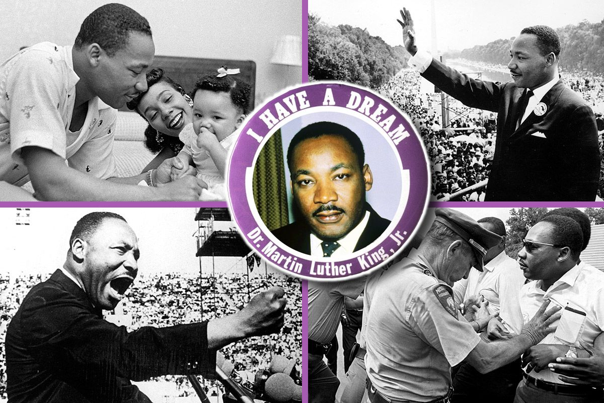 Martin Luther King Day Life And Times Of Mlk The I Have