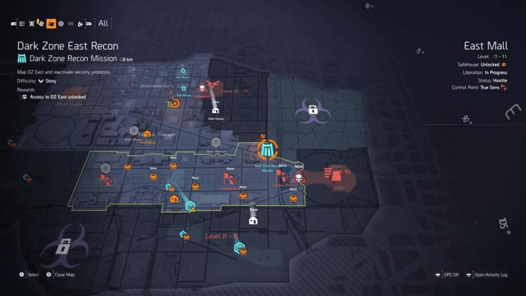 Resultado de imagem para the division 2 full map