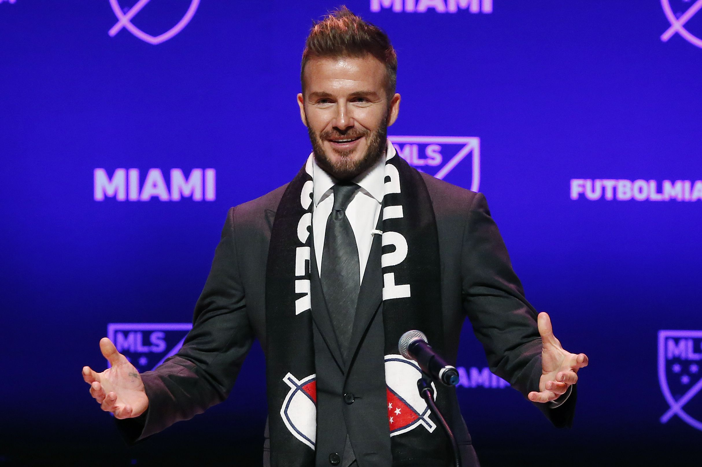 Report Will David Beckhams MLS Team Have To Change Name