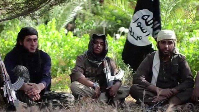 ISIS video still