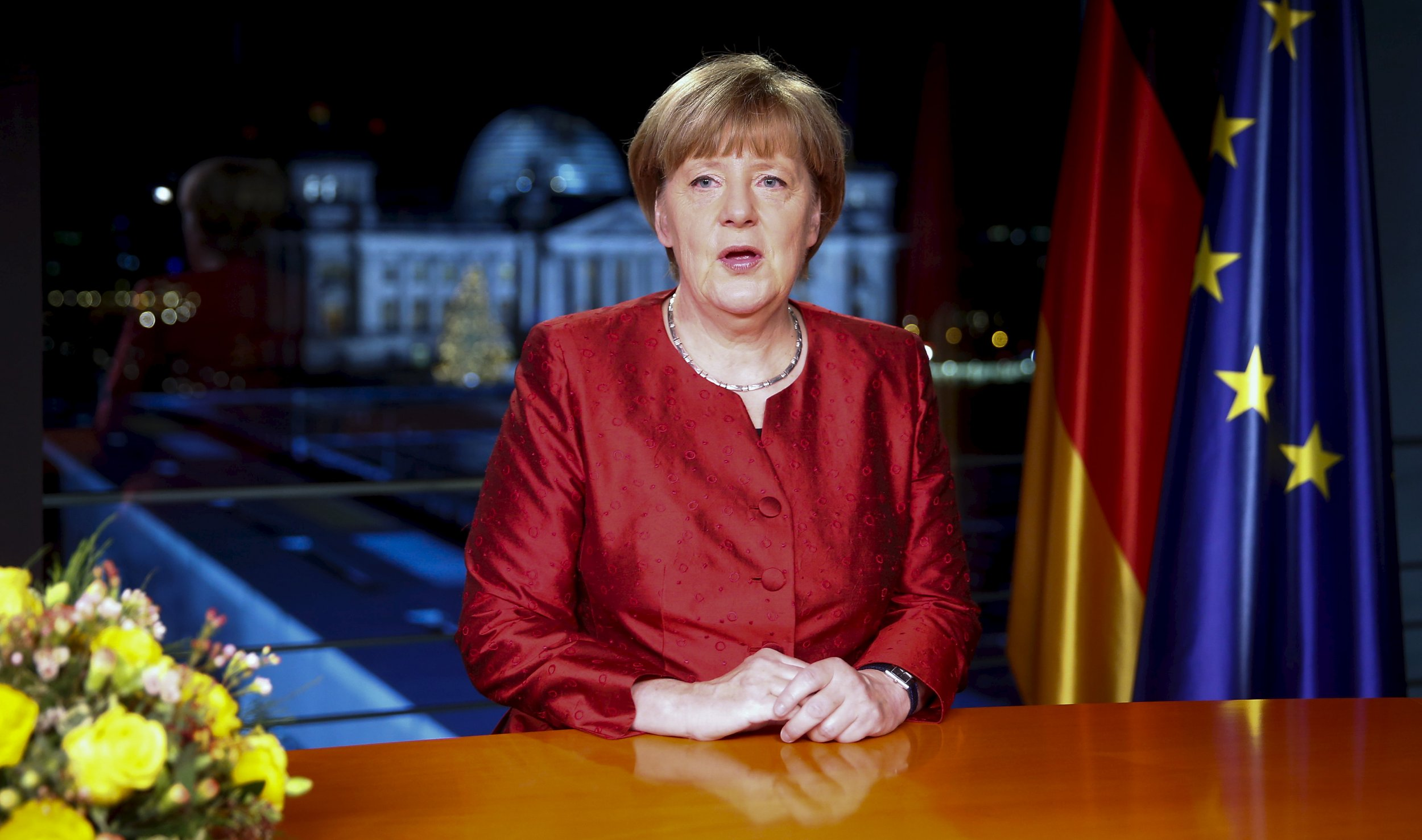 In New Year Messages  Europe s Leaders Call for Strength