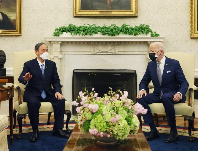 唐靖遠指出,美日在應對中共威脅的路線是有高度共識的圖:翻攝自首相官邸臉書