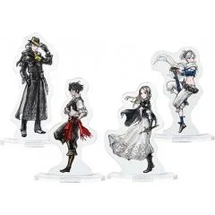 Bravely Default II - Acrylic Stand (Set of 4) Square Enix