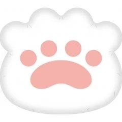 Bungo Stray Dogs Paw Cushion Orange Rouge