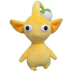 Pikmin All Star Collection Plush: Yellow Pikmin (Re-run) San-ei Boeki