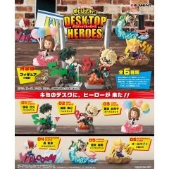 My Hero Academia Desktop Heroes (Set of 6 Packs) (Re-run) Re-ment
