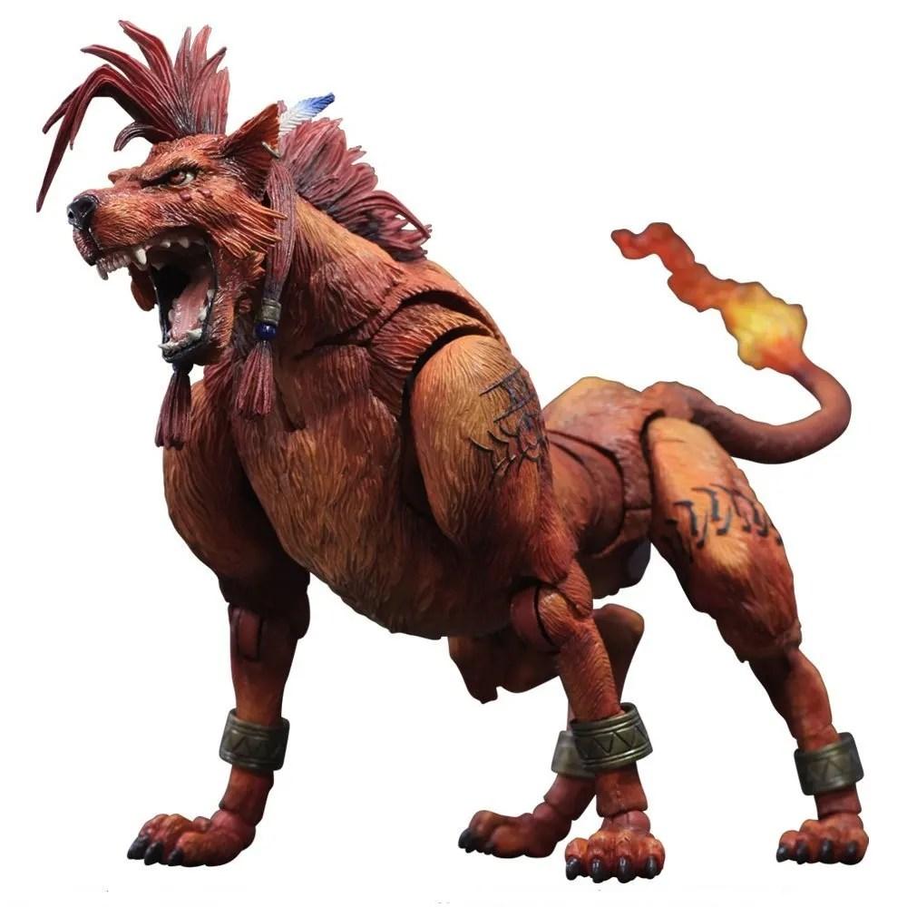Final Fantasy VII Advent Children Play Arts Kai Red XIII