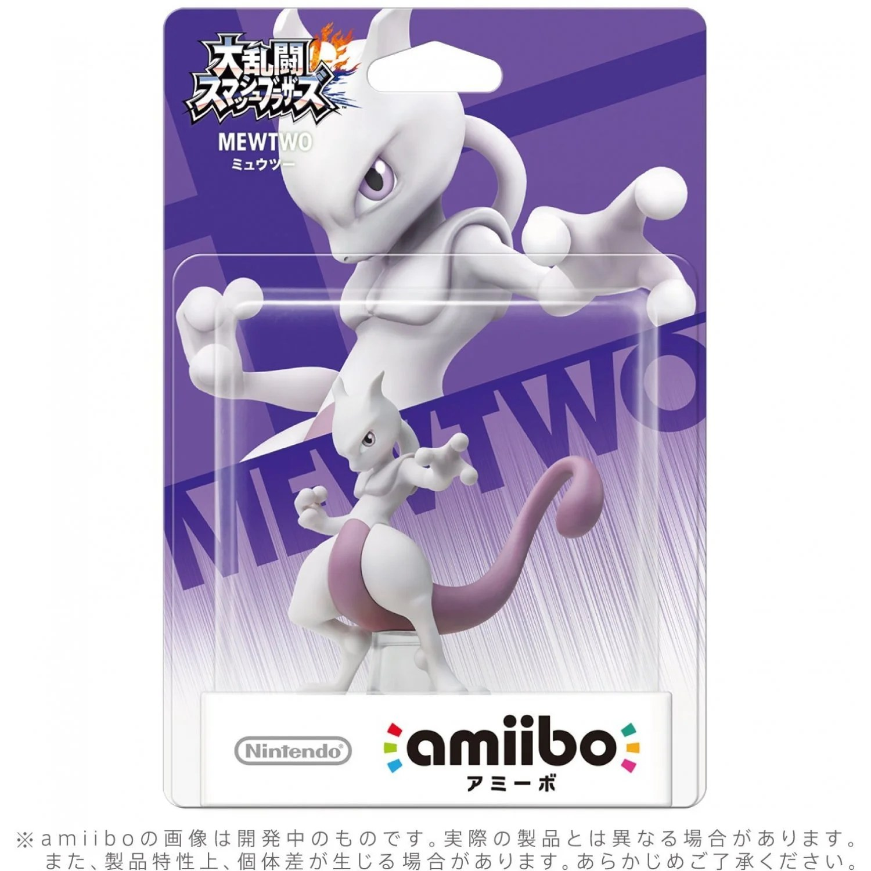Amiibo Super Smash Bros Series Figure Mewtwo
